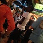 Karaoke at Topper's Bar (surprisingly good!)