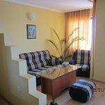 Apartment area of room