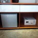 Mini fridge and SDB