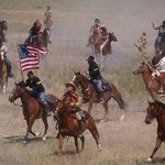 Battle of the Bighorn re-enactment