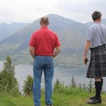 A beautiful and remote highlands vantage point