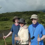 Arenal Volcano Hike Beginning Trail