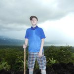Arenal Volcano Hike-at the top
