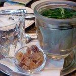 warm Rosemary tea