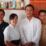 Great friendly restaurant and HK staff. Mr Kea, Mr Brom, Mr Shak and Ms. Noy the Chef