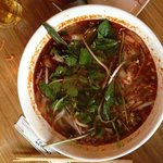 hot and spicy soup. delicious