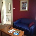 Suite 219 Lounge area