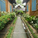 Garden hall way