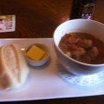 Huntly Hotel Bar potato soup