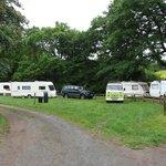 The Bridge Inn's small campsite