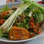 Sweet potato salad (vegetarian)