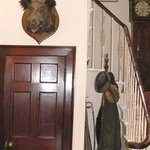Small detail from the entrance Hall