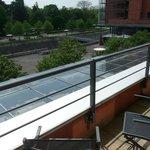 vue parc avec balcon