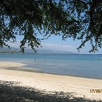 Beach view looking towards Dili