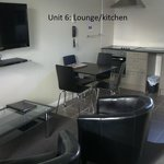 Unit 6: lounge/kitchen