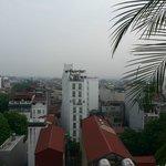 view of Hanoi at breakfast