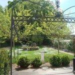 Rear garden & BBQ area