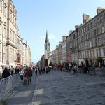 View of the Royal Mile from the doorstep of Stay Edinburgh City Apartments