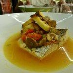 Frischer Fisch in Restaurant