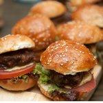 Gourmet Mini Burger Platter