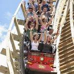White Lightning (Orlando's only wooder roller coaster)
