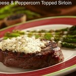 Blue Cheese and Peppercorn Top Sirloin