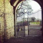 Gate from Courtyard at Clonabreany House