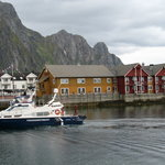 Picture of the hotel in Svolvaer, Norway