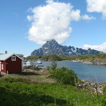 Just outside of Svolvaer
