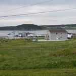Blick auf die Gros Morne Suites - Haus 2