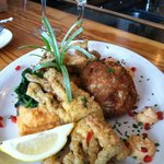 Soft Crab and Crab Cake Special