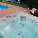 la nuova vasca idromassaggio