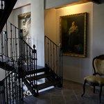 Escalera que lleva a la Habitación Grand Suite