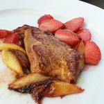 foie gras wth strawberry