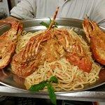Lobster Spagheti   Αστακομακαρονάδα