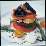 Garden Vegetable Timbale