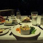 3-course dinner: entree (crab pot)