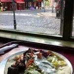 mangiare con vista su temple bar