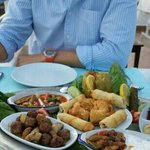 Meze feast at sofra. ..best of holiday