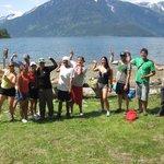 Kayaking: a great workout!