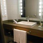 Bagno moderno e pulito