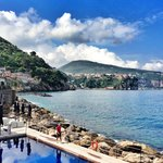 From the restaurant terrace - looking towards Vico Equense
