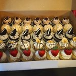 Cupcakes for the bridal shower
