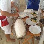 zeebaars volledig in zout (top)
