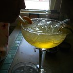 Picture of the Margarita! GREAT!