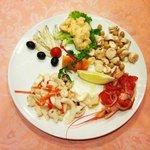 insalata di mare buonissima e fresca!