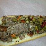 Combo...Italian Beef & Sausage with giardiniera!!