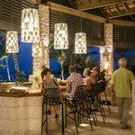The Pavilion bar.