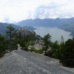 Blick über den First Peak über den Howe Sound