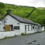 Restaurant attached to the Pen-y-Bont Hotel